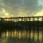 「タイ旅行」モン族が作ったモンブリッジ。木製の橋としては世界で二番目に長かった!サンクラブリ(サンカブリ)